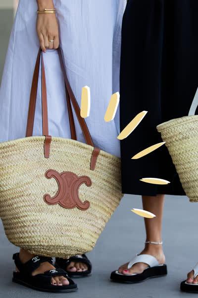 Korbtaschen sind Trend - und das sind die schönsten Basket Bags im Sommer 2021 für jedes Budget