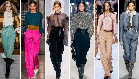 Hosen-Trend 2020: Diese Modelle vom Runway werden wir diesen Herbst tragen