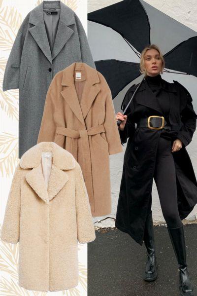 Das sind die 10 elegantesten Mäntel des Winters von Zara, Mango, H&M & Co., die perfekt zu Leggings und Jogginghosen passen