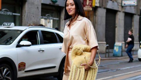 Herbst-Trend Fransen: So tragen die Street-Style-Stars den Look bei der Mailand Fashion Week