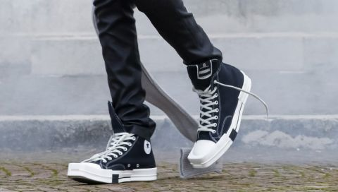 Rick Owens verwandelt den ikonischen Converse-Sneaker radikal