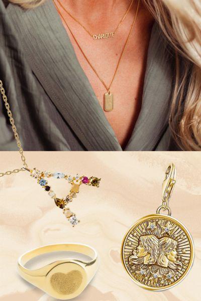 Personalisierter Schmuck: Das sind die schönsten Ketten, Ringe & Co. für ein persönliches Geschenk - ob für Mama, die beste Freundin, oder einfach für dich selbst