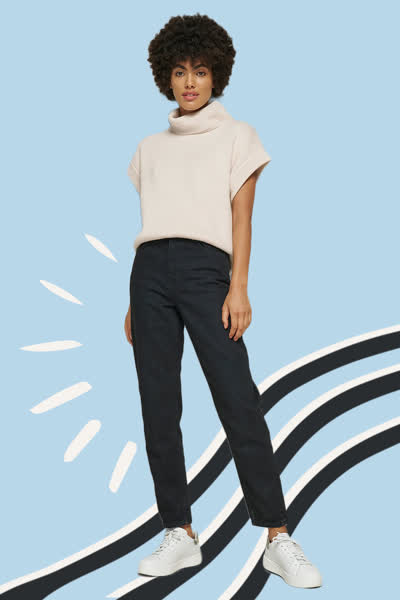 Perfekte schwarze Jeans: Wir haben das Denim-Modell gefunden, das wirklich jeder Figur schmeichelt - und es kostet unter 60 Euro