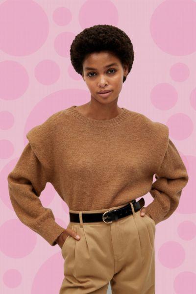 Trend-Pullover: Dieser Bestseller-Pullover von Mango ist jetzt für 20 Euro im Sale - und ist garantiert auch noch nächsten Winter angesagt
