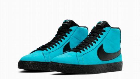 Der neue Nike Blazer Mid besticht in dieser Knallfarbe - und ist zum Skaten gemacht
