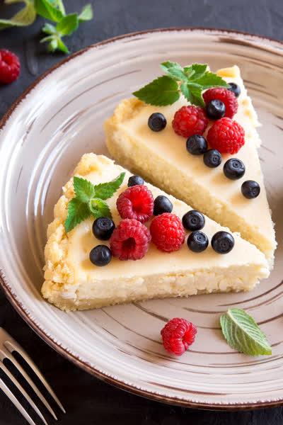 No-Bake Cheesecake: Das ist das beste Rezept für einen sommerlichen Käsekuchen ohne Backen