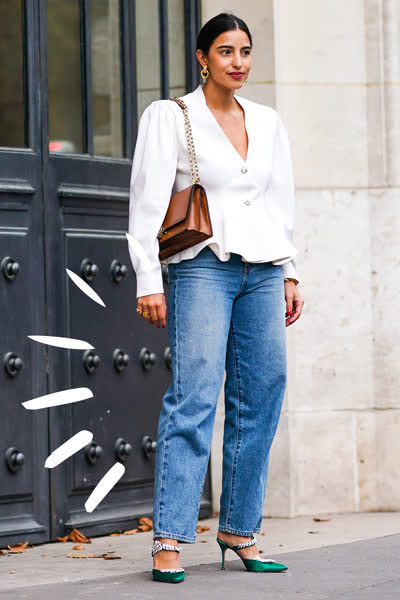 Barrel-Jeans: Dieser lässige Denim-Trend für den Herbst 2021 ersetzt jetzt deine Mom-Jeans - und wir lieben ihn!