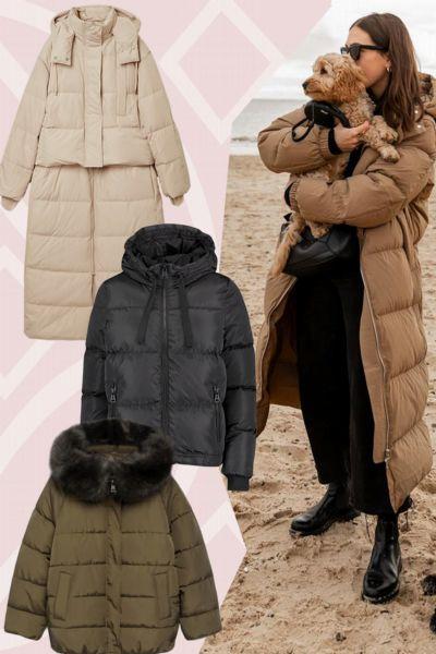 Daunenjacken: Diese 15 Puffer Coats von Zara, H&M & Co. halten uns im Winter warm - und sind teilweise jetzt schon im Sale