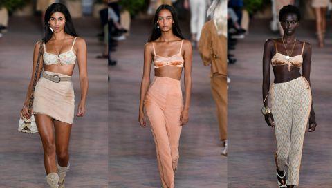 Diese Runway-Looks beweisen: Bralettes werden 2021 Key-Pieces in unserer Garderobe