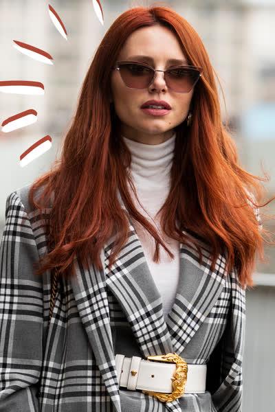 In vs. out: Diese 3 Rottöne für die Haare sind im Herbst 2021 out - jetzt tragen wir diese roten Trend-Haarfarben