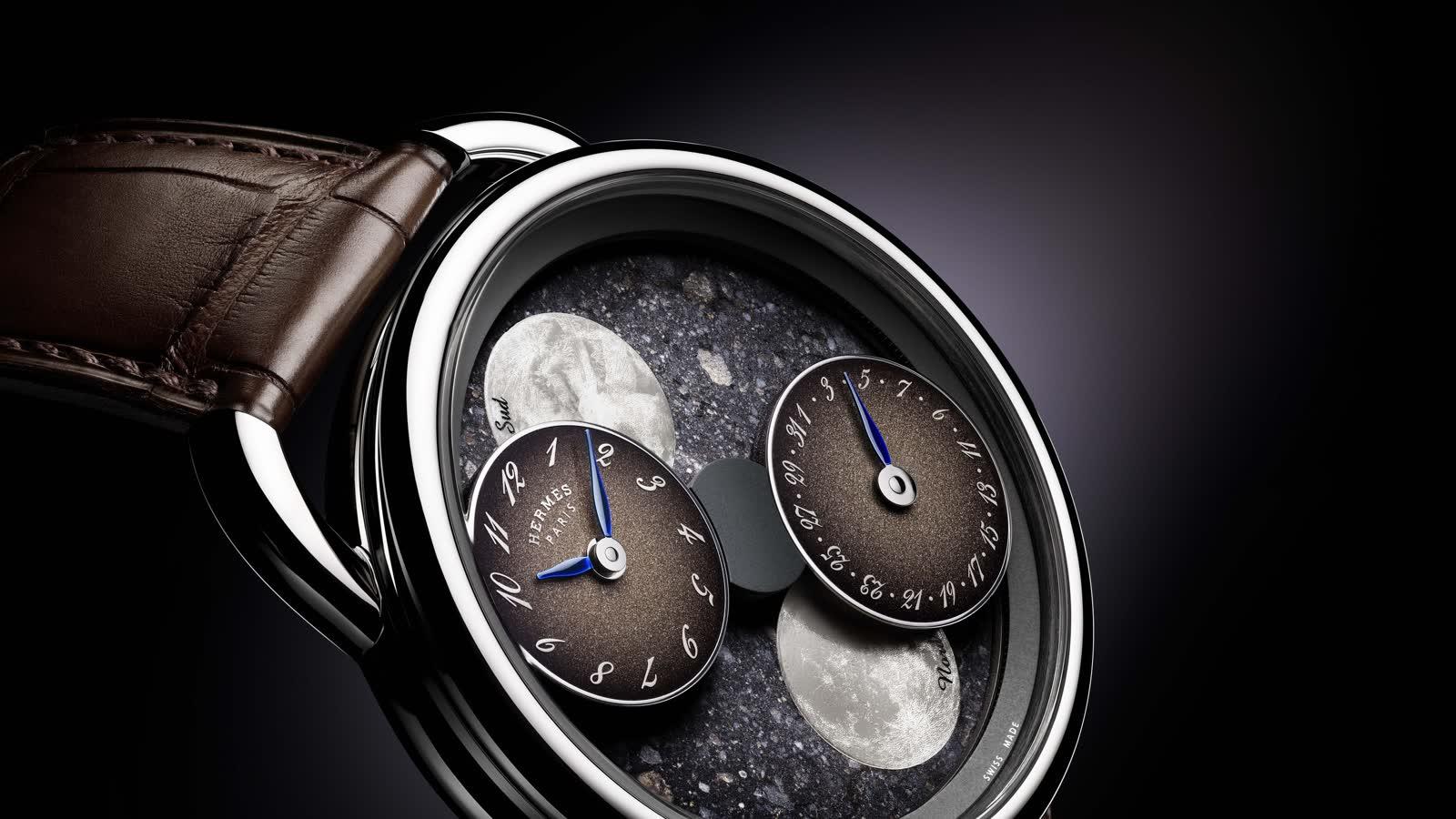 7 Uhren mit einem Meteoriten-Zifferblatt - von Rolex, Hermès, Omega & Co.