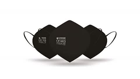 FFP2-Maske kaufen: Die besten Modelle in Schwarz, die Sie jetzt shoppen können