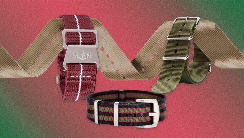 Nato-Armbänder: Mit diesen 7 Straps verpassen Sie Ihrer Uhr einen neuen Look