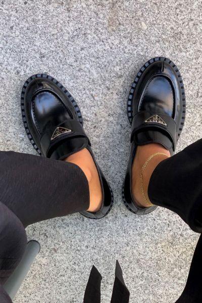 Vergesst Ugly Sneaker! Chunky Loafer sind die einzigen flachen Schuhe, die wir im Herbst 2020 wirklich brauchen