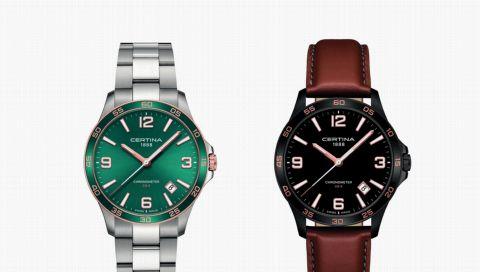 Sportlich, edel und urban: Das ist die neue Certina DS-8 Uhr