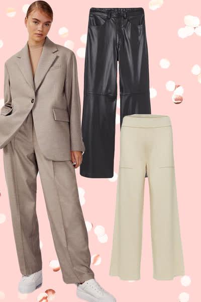 7 weite und bequeme Trend-Hosen für unter 100 Euro - perfekt für alle, die im Herbst mal keine Lust auf Jeans haben