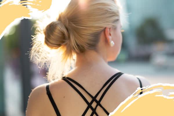 Cord Knot Bun: Das ist die angesagteste (und einfachste) Sommerfrisur für lange Haare!