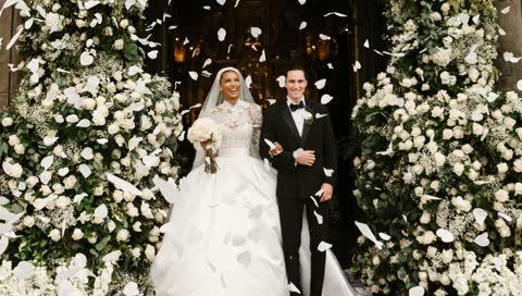 Jasmine Tookes: So traumhaft war die Hochzeit des Topmodels - und ihr Brautkleid von Zuhair Murad