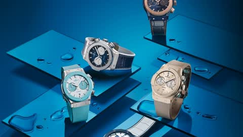 Hublot: Maritime Kollektion für den Classic Fusion Chronographen