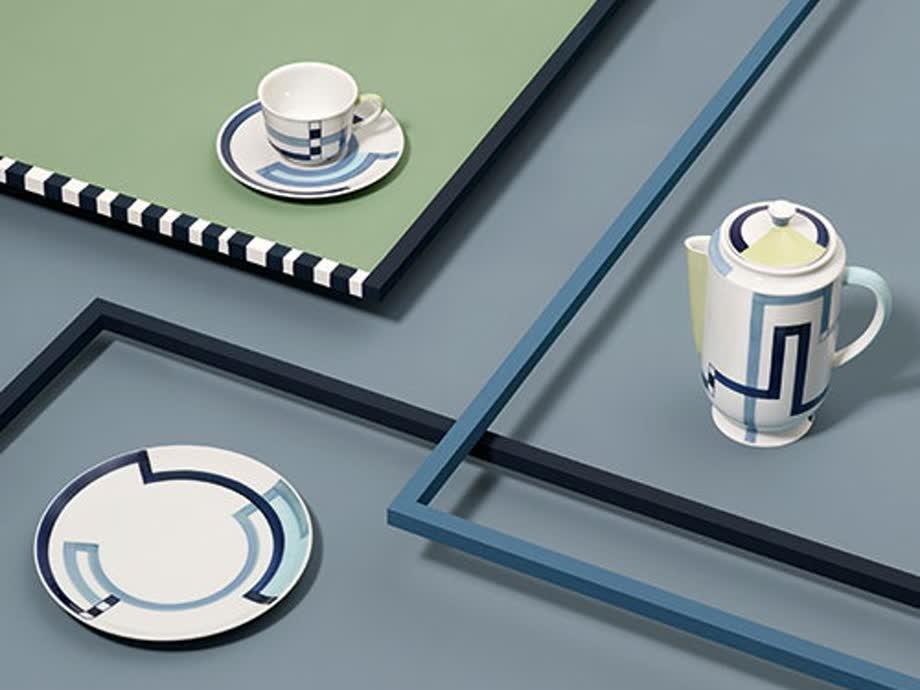 Dreierlei: Diese Stücke aus Glas, Keramik und Tansanit hätten wir gern zu Hause