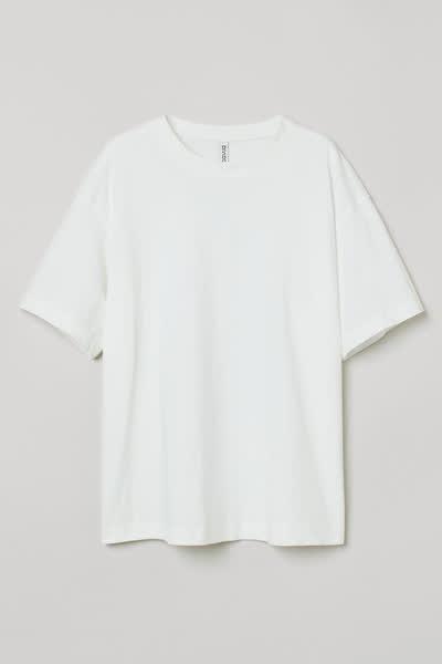 Weites Baumwoll-T-Shirt
