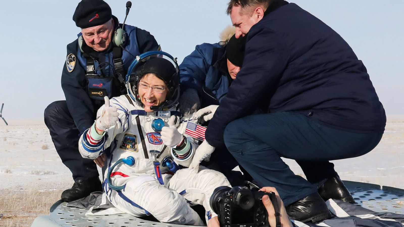 Rekord-Astronautin: Christina Koch, wie fühlt sich das Leben im Weltraum an?