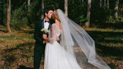 Model-Hochzeiten: Die Brautkleider von Miranda Kerr, Kate Moss & Co.