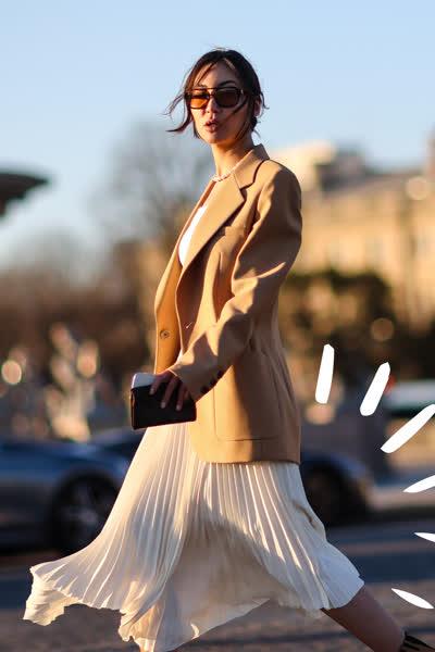 Plisseerock kombinieren: Die 9 besten Styling-Tipps für Plisseeröcke - plus: Outfit-Ideen für jede Jahreszeit und Gelegenheit