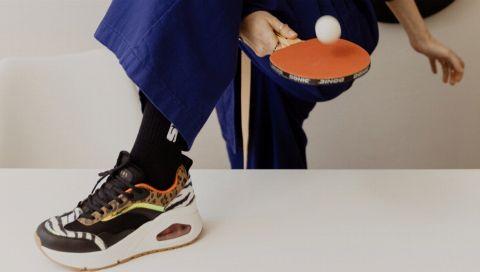 Berlin Fashion Week: Sneakers von Skechers sind die Schuhe der Stunde