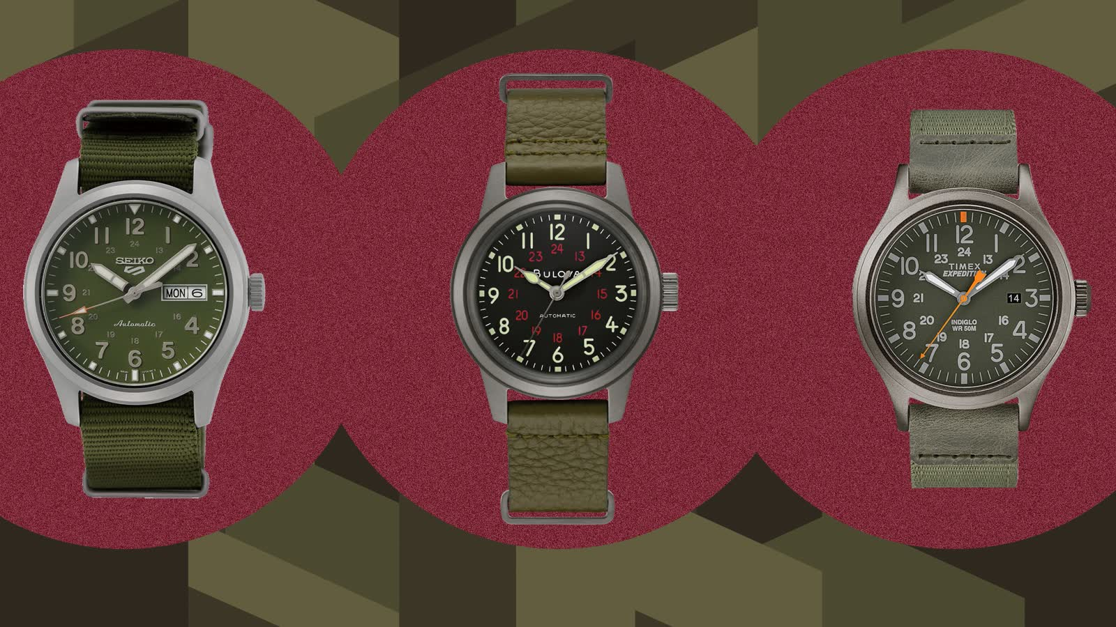 Field Watches: 5 Uhren unter 500 Euro