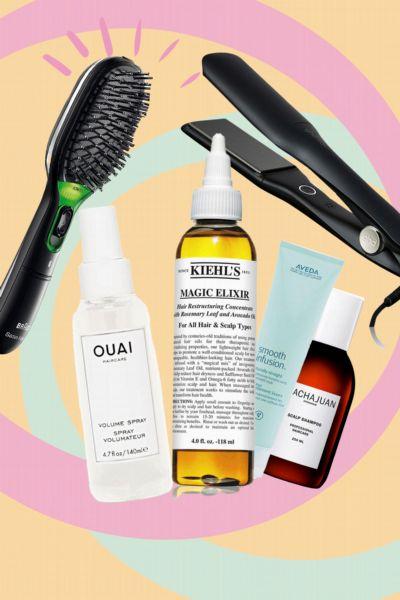 GLAMOUR Shopping-Week: Auf diese 7 Haarpflege und -Styling-Produkte schwört unsere Beauty-Redakteurin und du kannst sie direkt nachshoppen