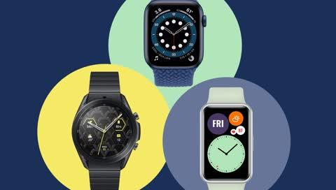 Die beste Smartwatch? Diese 7 Modelle streiten sich um den Titel