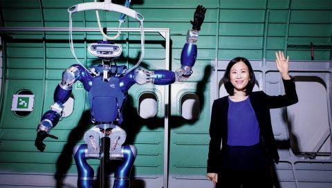 Werden humanoide Roboter uns eines Tages die Jobs wegnehmen? Wir haben mit einer gesprochen, die es weiß