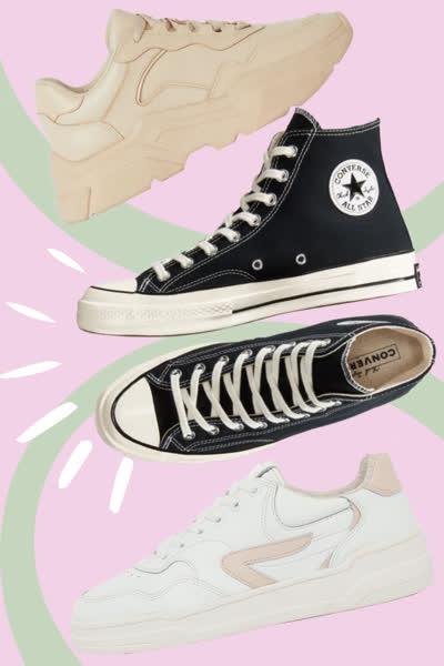 Angesagte Sneaker-Styles: Diese 3 Trends sind perfekt für den Herbst - und wir zeigen euch, wo ihr sie nachshoppen könnt