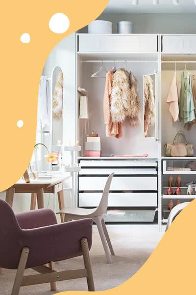 Ikea: Dieses 15-Euro-Möbelstück ist die perfekte Kleiderschrank-Alternative für Leggings, Sport-BHs & Co.