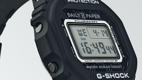 G-Shock: Limitierte Version mit dem Kultlabel Daily Paper versprüht 90ies-Vibes