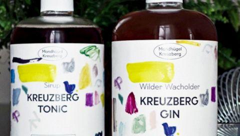 Mondhügel Kreuzberg: Gin und der passende Tonic-Sirup für die Hausbar
