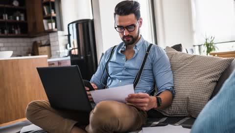 Homeoffice-Studie beweist: Wir arbeiten zuhause länger und schaffen weniger - 5 Tipps für höhere Produktivität