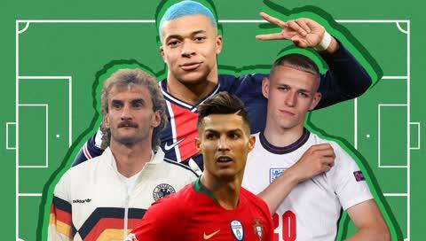 Die schönsten - und schlimmsten Fußballer-Frisuren aller Zeiten