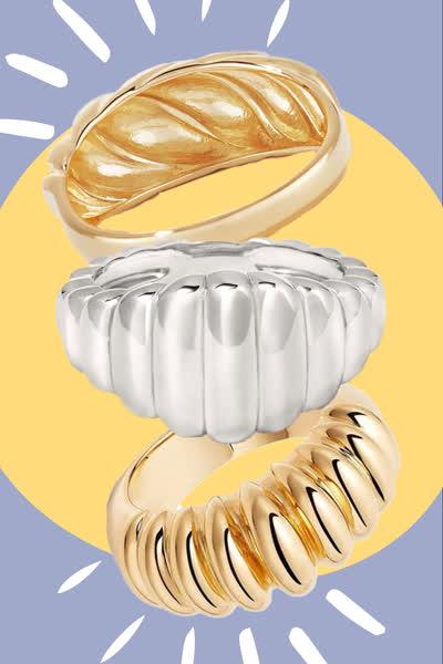Croissant-Ringe: Diesen eleganten Schmuck-Trend tragen gerade alle Modeprofis - und auch ihr werdet ihn lieben