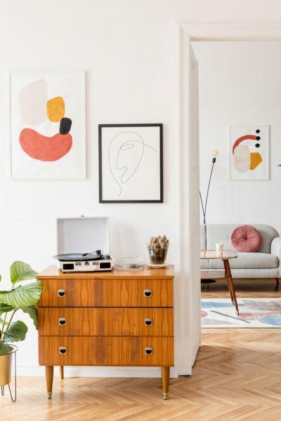 Vintage-Einrichtung: So funktioniert der beliebte Wohnstil 2021