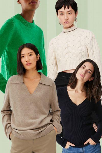 Günstige Kaschmirpullover: Die besten 15 Trend-Pullover aus Kaschmir von H&M, Mango, Zara & Co. für unter 200 Euro