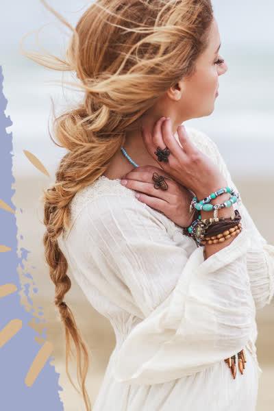 Boho-Frisuren: Hier findest du 33 geniale Hippie-Looks zum Nachstylen