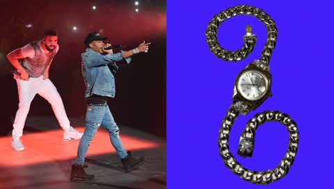 Drake beweist: Das beste Geschenk ist eine maßangefertigte Rolex