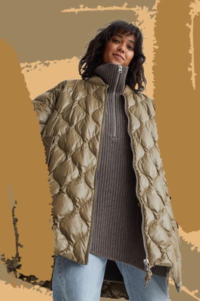 Trend-Steppjacke von H&M: Dieses günstige Modell sieht aus wie der Favorit der Modeprofis - und wird garantiert schnell ausverkauft sein