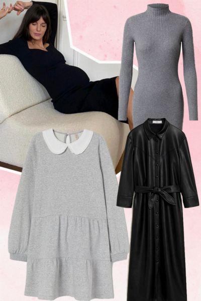 Langärmlige Kleider: Diese 12 winterfesten Trend-Dresses von H&M, Mango & Co. sind bequemer als Leggings und Jogger - und kosten weniger als 80 Euro