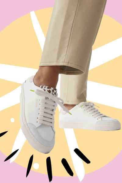 Weiße Sneaker: Die Turnschuhe sind auch im Sommer 2021 DAS Must-have - wenn du sie genau so stylst