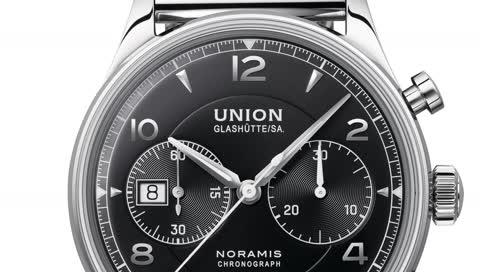 Union Glashütte: Der Noramis Chronograph bekommt jetzt einen neuen Look verpasst und sieht mega edel aus
