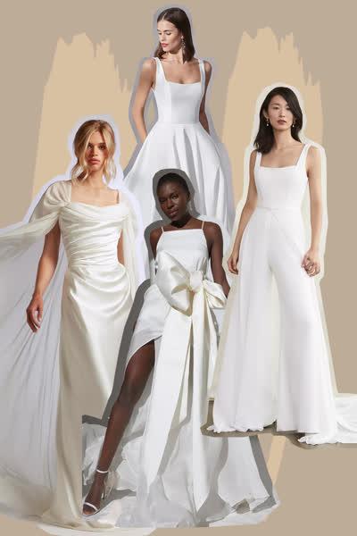 Brautmode 2021: Diese 9 Brautkleider-Trends müsst ihr kennen, wenn ihr dieses Jahr heiraten wollt