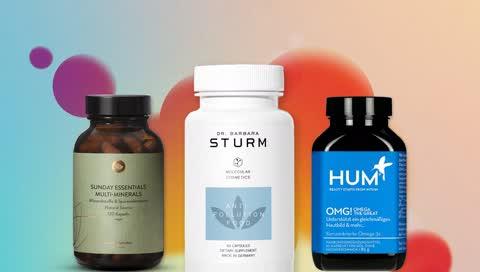 Best-of: 10 Supplements, die Haut, Fitness und Gesundheit von innen stärken